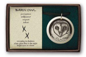Boxed Barn owl
