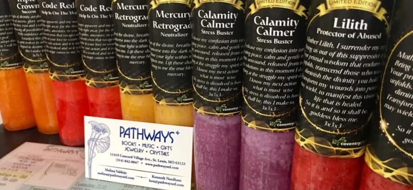 Limited Edition Coventry Candles have arrived at Pathways!