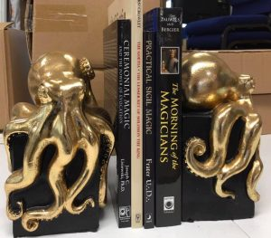 Cthulhu bookends