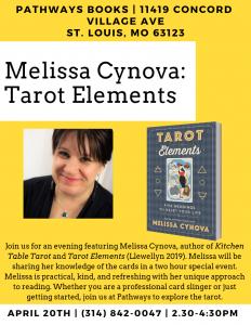 Tarot Elements Class with Melissa Cynova