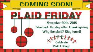Pathways Plaid Friday