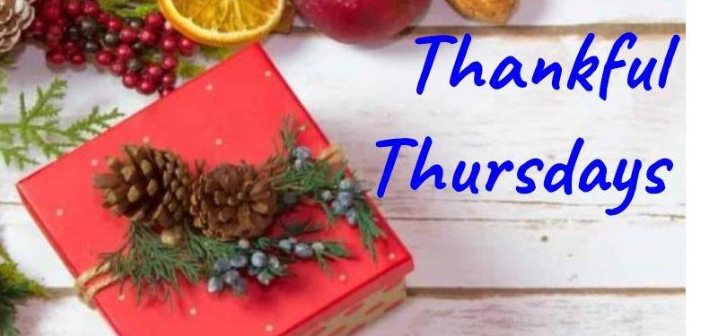 Thankful Thursdays 11/14/19