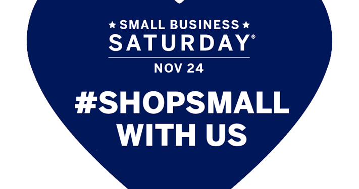 Shop Small, Shop Local with Small Business Saturday (& weekend!) November 24 & 25