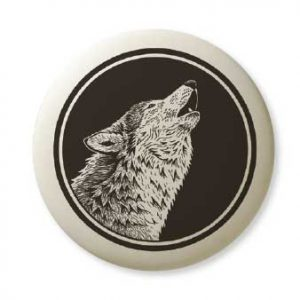 Gray Wolf 3 Pathfinder pendant