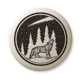 Gray Wolf Pathfinder pendant