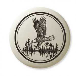 Bald Eagle in flight Pathfinder Pendant