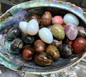 small stone eggs
