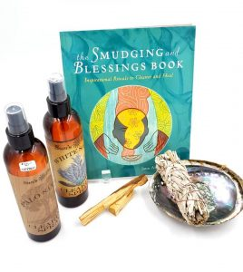 We have all your smudging and cleansing supplies